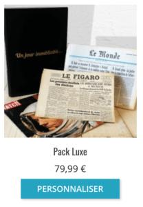 Journal de naissance de Pack de Luxe