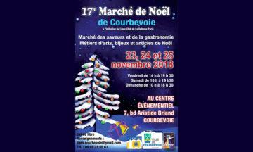 17ème Marché de Noël de Courbevoie