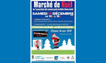 Marché De Noël Notre-Dame Limite – Septèmes les Vallons