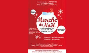 Marché de Noël 2018 à Lille