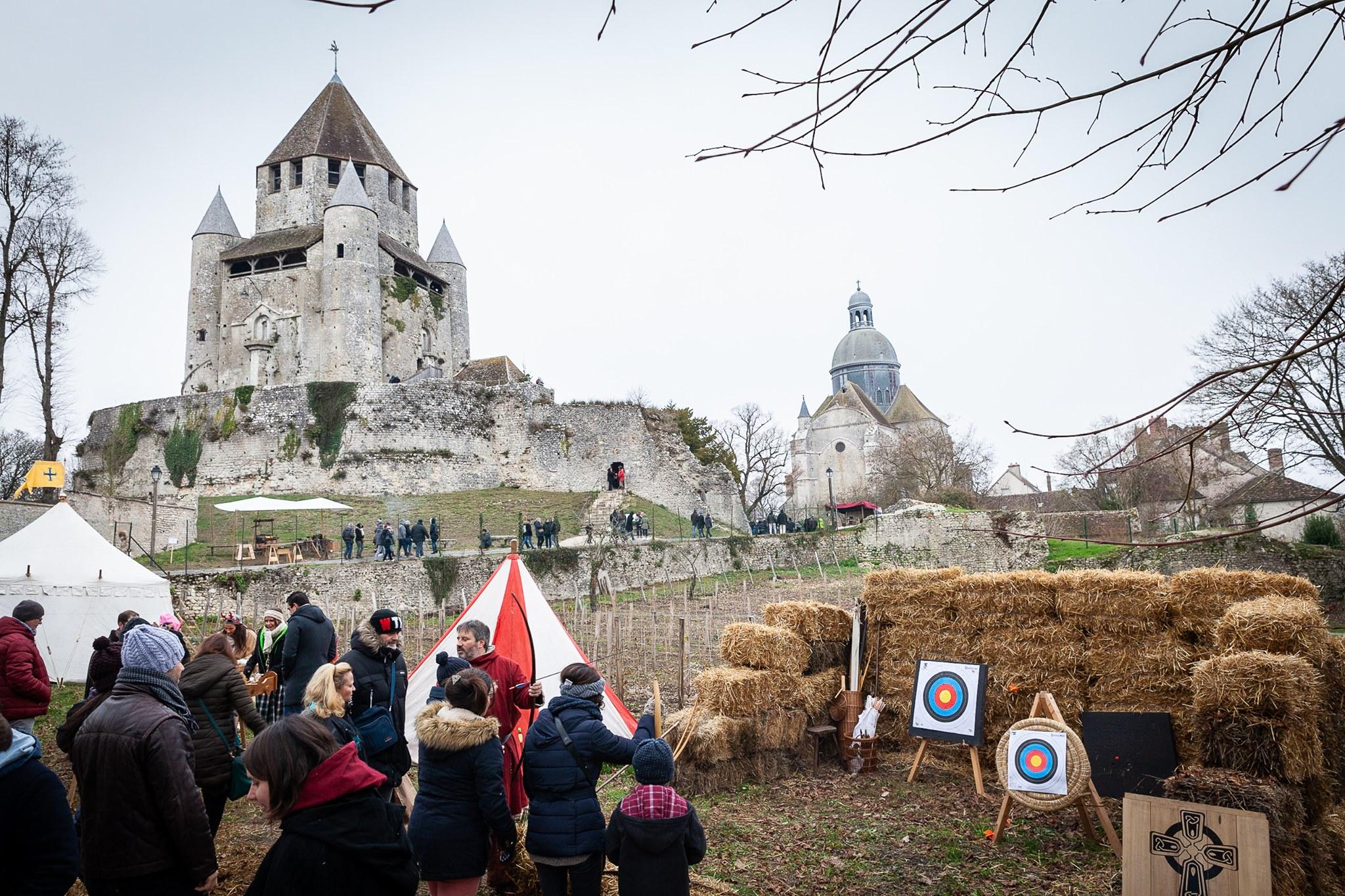 Marché Médiéval de Noel de Provins 2019