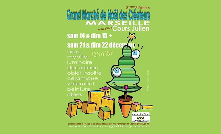 """""""Grand Marché de Noël des Créateurs"""" – édition 2019 – 21ème édition"""
