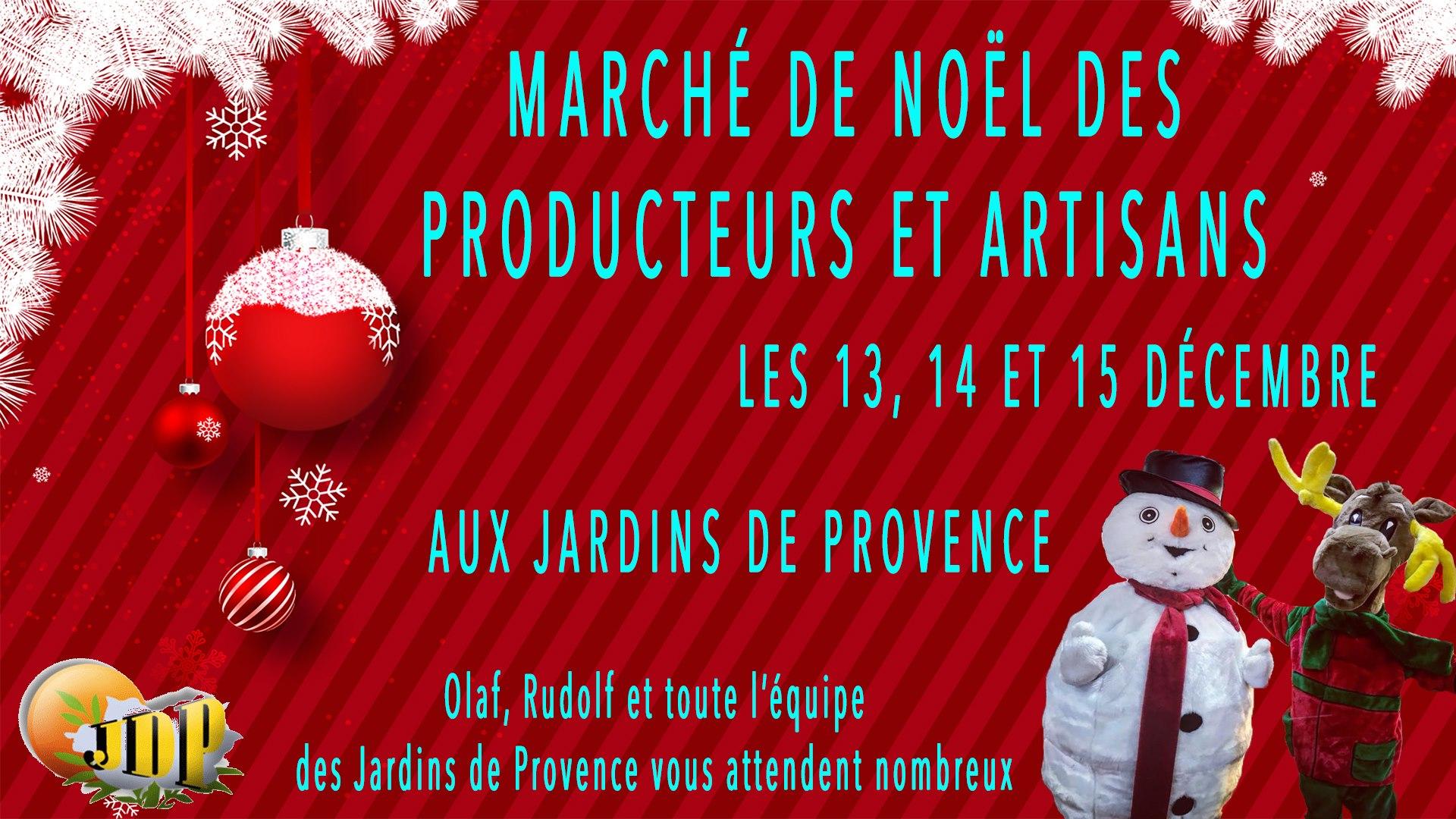 Marché de Noël Producteurs & Artisans