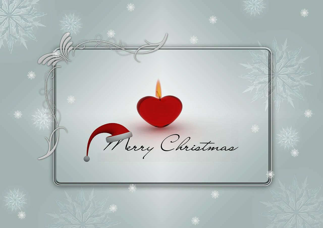 lettres de vœux de Noël