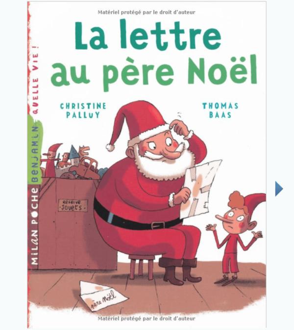 Livre De La Lettre Au Pere Noel
