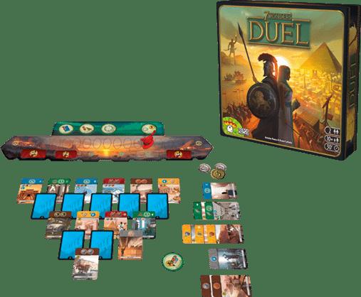 7 wonders duel materiel